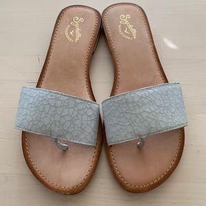 SEYCHELLES Weekenders Patterned Thong Sandals